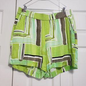 Lane Bryant Plus Size 14/16 Lime Green Soft Shorts
